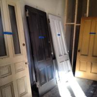 More antique doors come home